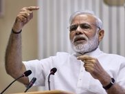 """PM''s Modi''s message at the meeting was that ''rakt aur paani ek saath nahin beh sakta,"" sources said. PTI"